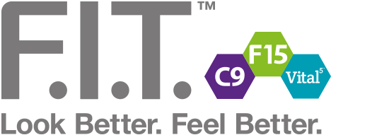 Logo F.I.T. Look Better. Feel Better.